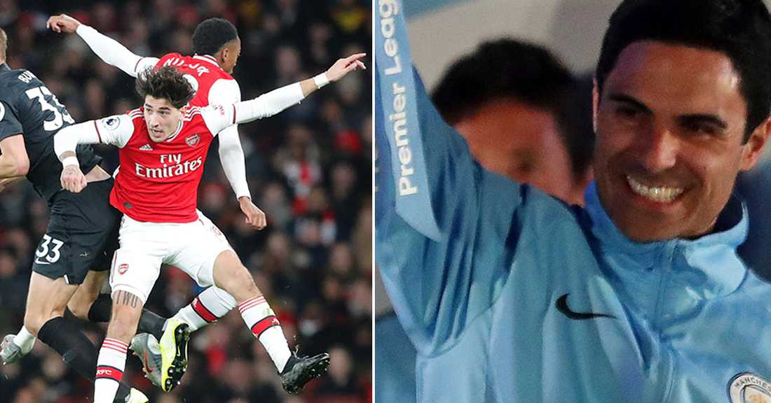 Arteta för samtal med Arsenal.