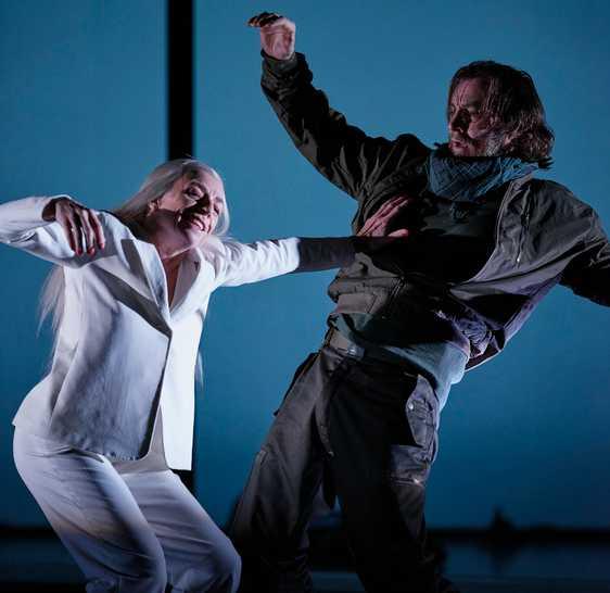 """Ingmar Bergmans """"Det sjunde inseglet"""" spelas på Uppsala stadsteater."""