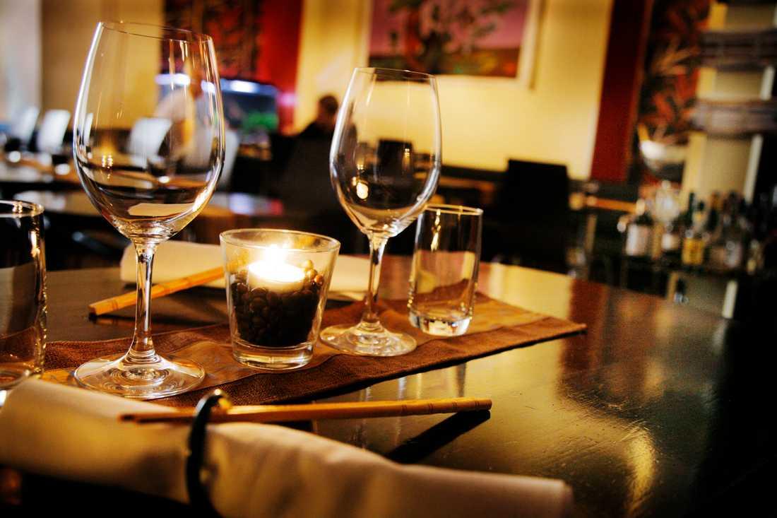 Uppropet handlar om att restauranger bara bokar upp vartannat bord. Arkivbild.