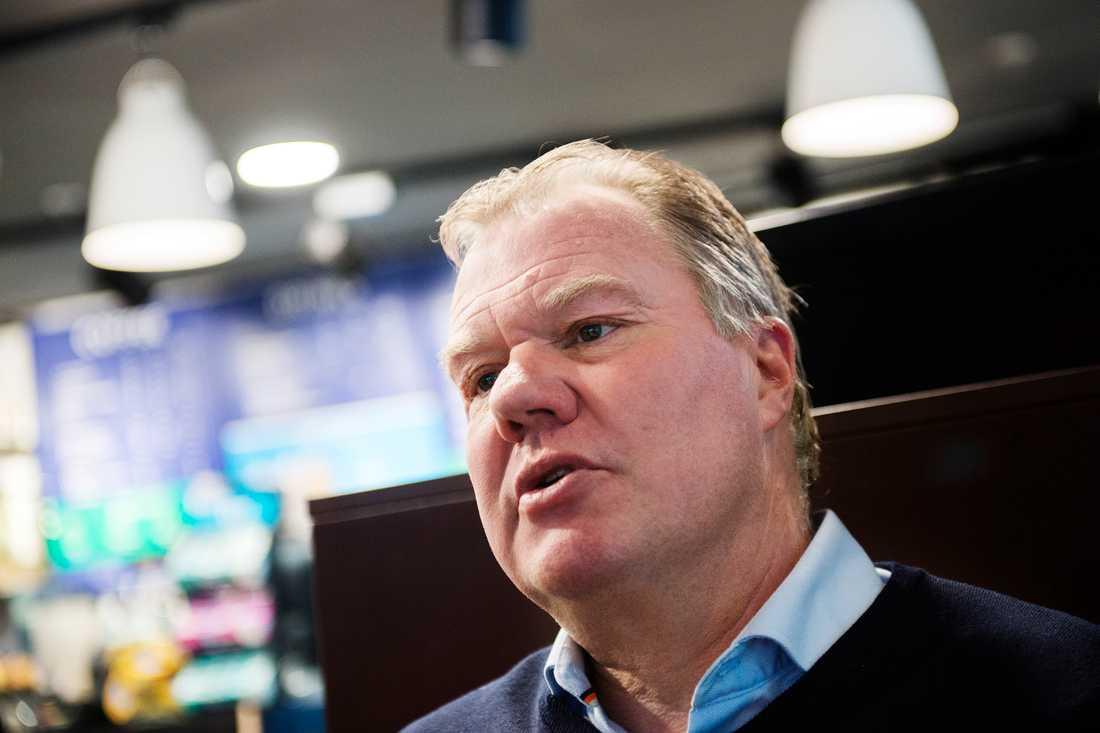 Karl-Erik Nilsson, ordförande i Svenska fotbollförbundet.