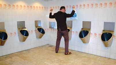 """""""Min homofobi gör varje toalettbesöktill en mardröm."""""""