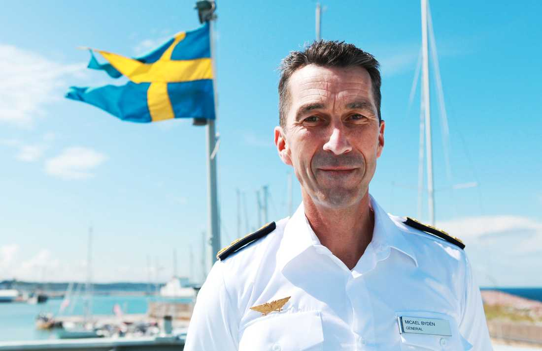 Micael Bydén har varit Sverige Överbefälhavare sedan oktober 2015.
