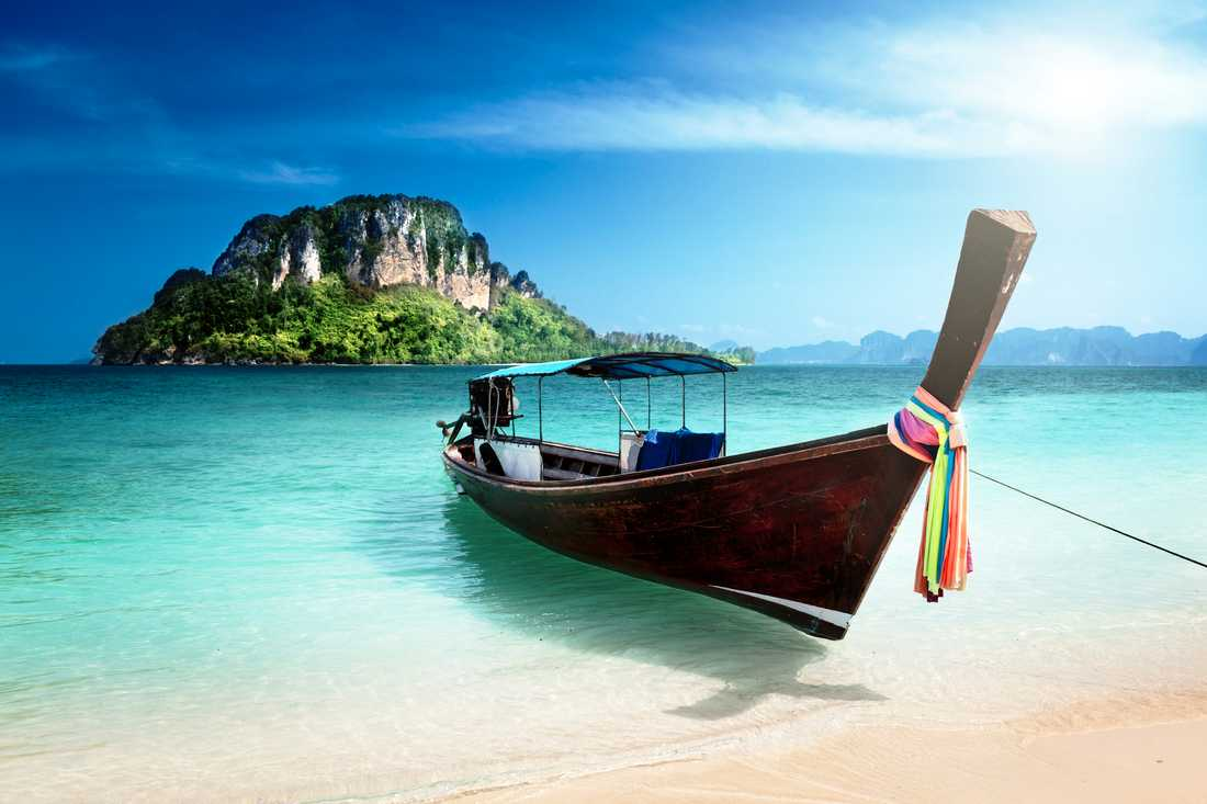 Thailand, utan frost.