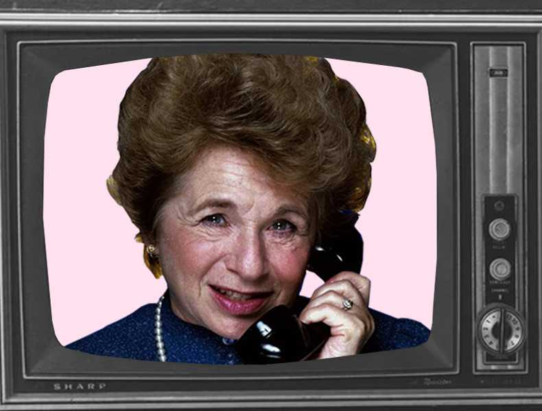 """""""Ask dr Ruth""""."""