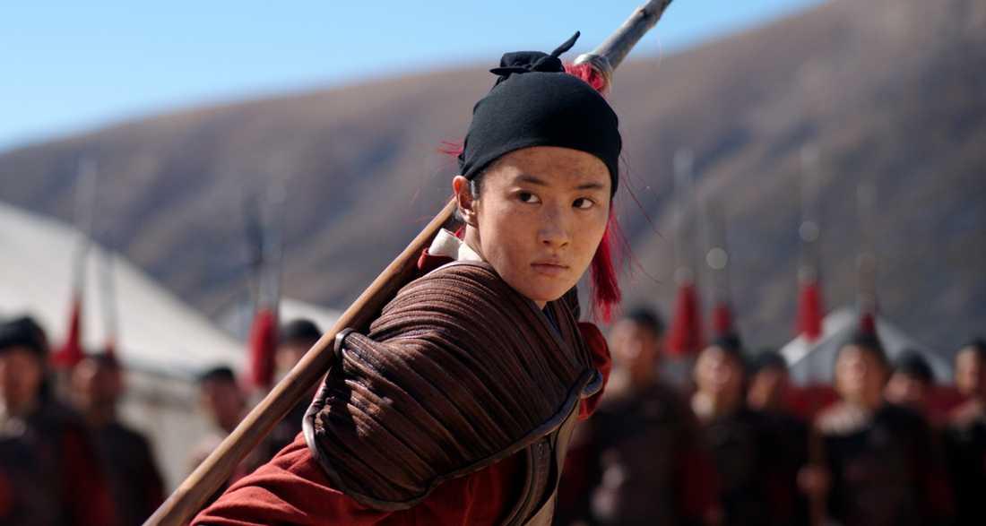 "Bild från Disneys nya storfilm ""Mulan""."