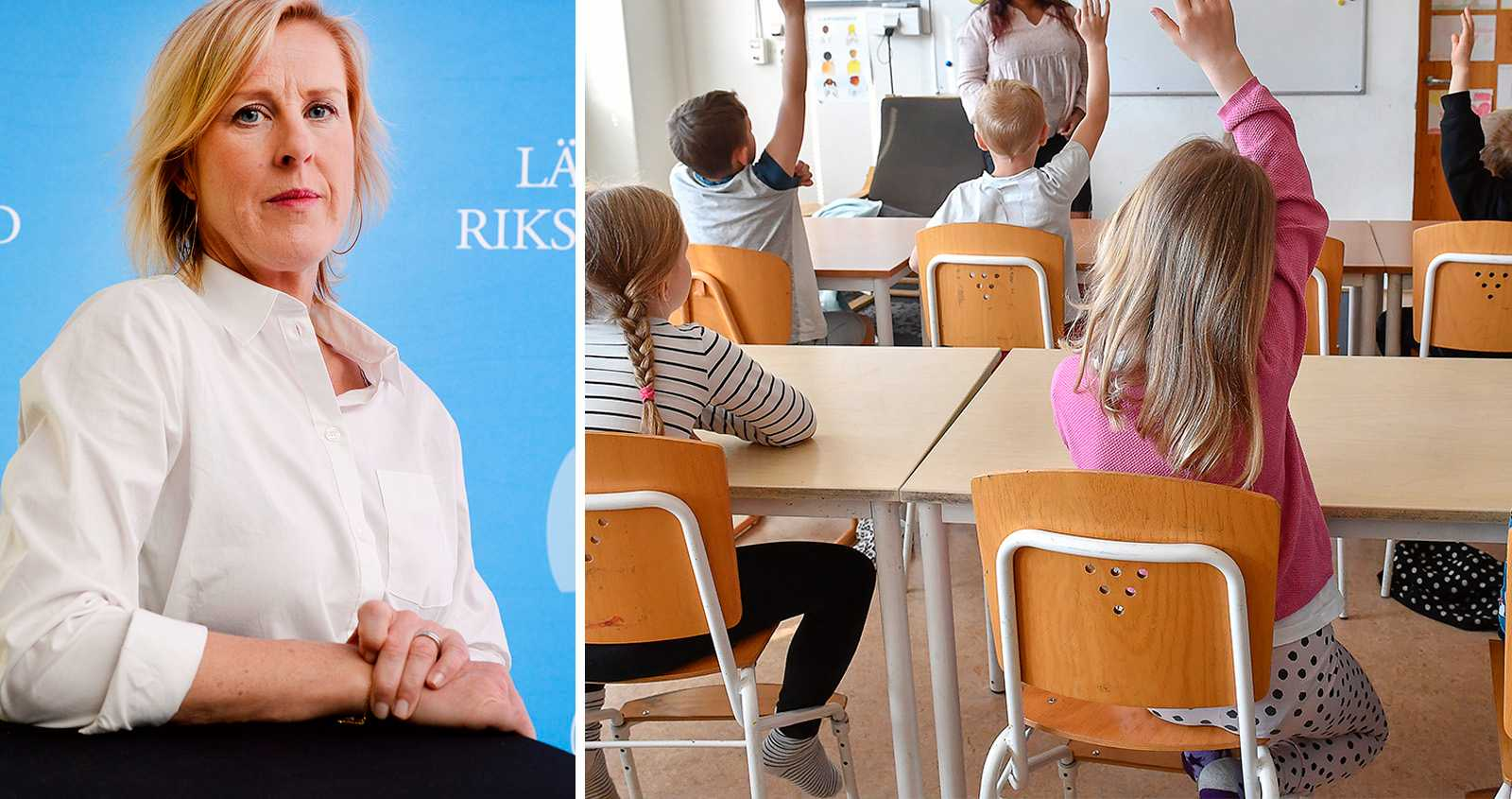 Kritik mot arbetet med att minska smittan i skolan
