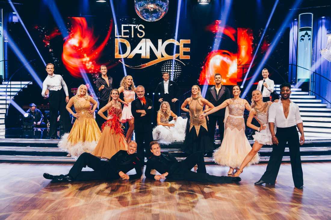 """""""Let's dance"""" är tillbaka igen efter fyra veckors uppehåll."""