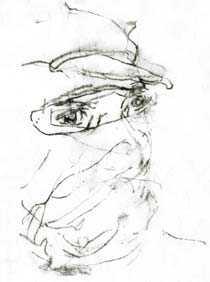 Teckning: John Berger.