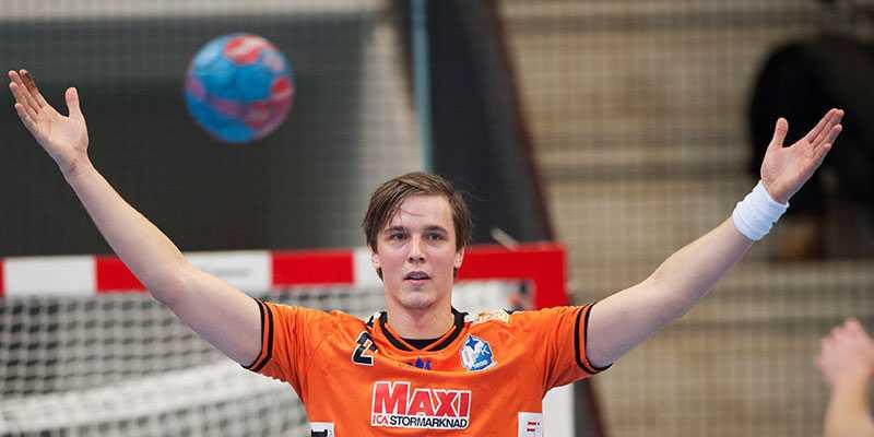 Kristianstads Daniel Lindgren.