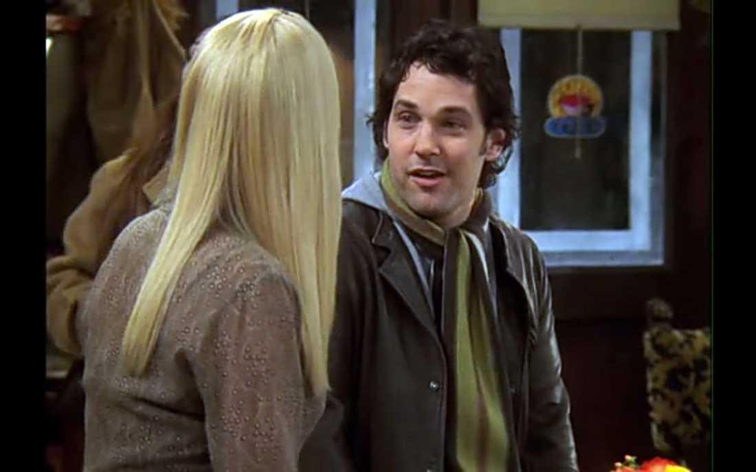 """Rudd som Phoebes pojkvän Mike i """"Vänner"""" (2002–2004)."""
