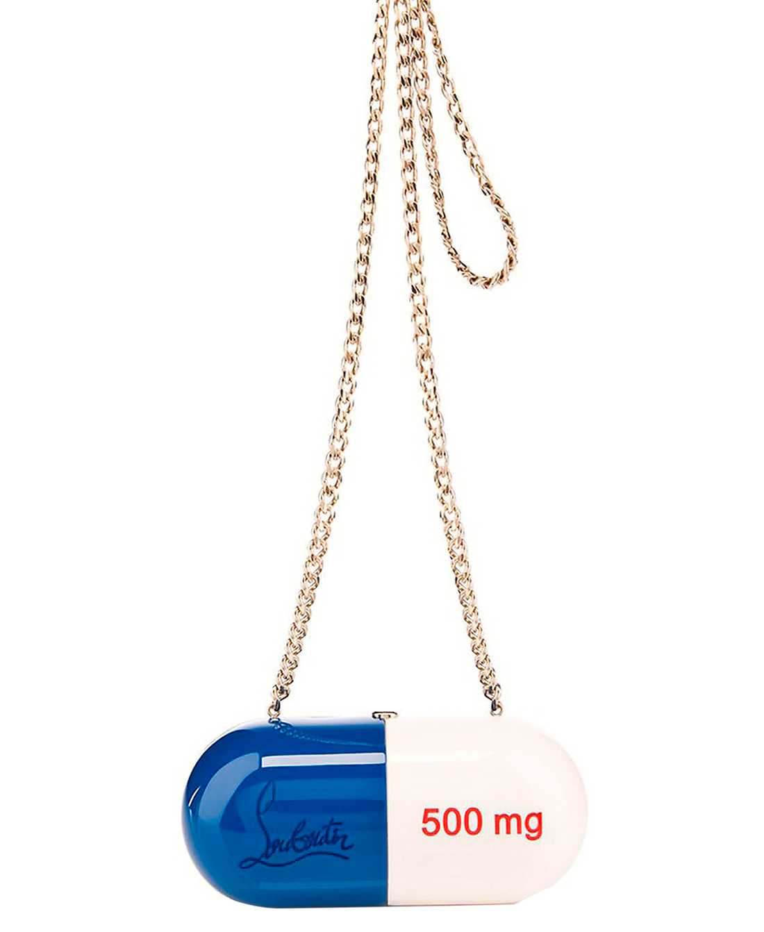 Christian Louboutins pillerväska kostar cirka 48000 kronor.