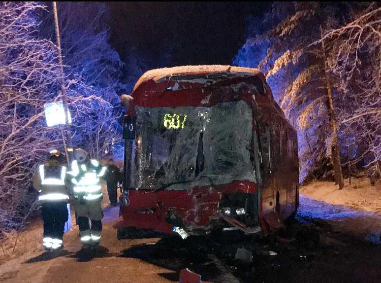 Bussolyckan i Sollentuna.