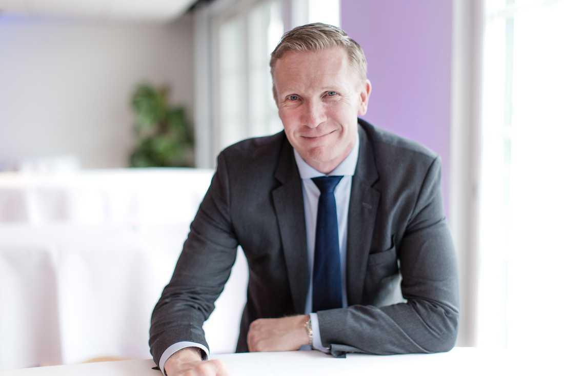 Mats Hedenström, näringspolitisk chef på Svensk Handel.
