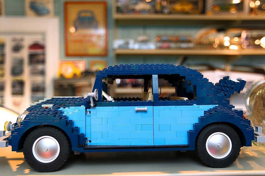 """Folkabubblan från Lego tillverkades bara under en kort tid. """"Jag hittade den i England."""""""