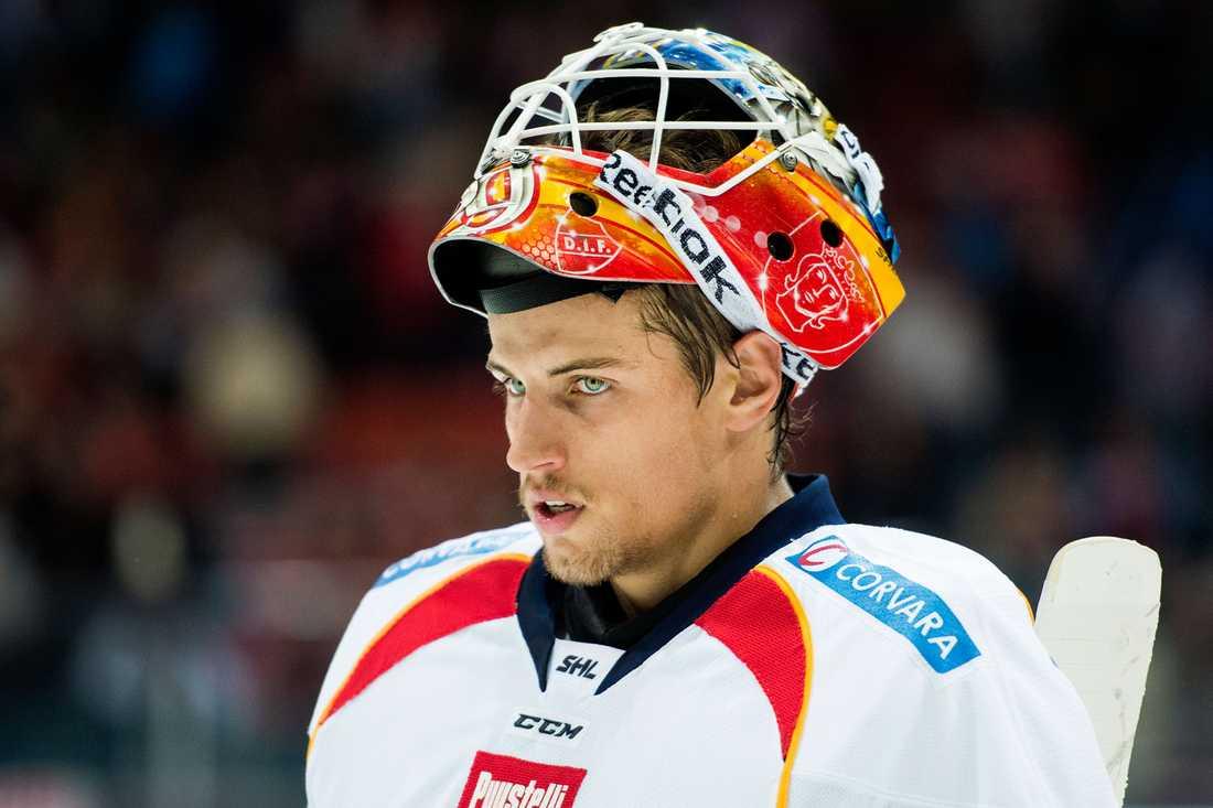 Mantas Armalis fick förtroendet i Djurgårdens mål. Då blev det förlust borta mot Frölunda.