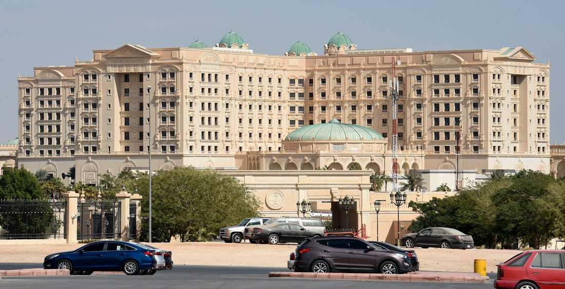 Det nu stängda hotellet Ritz Karlton i Ryadh.