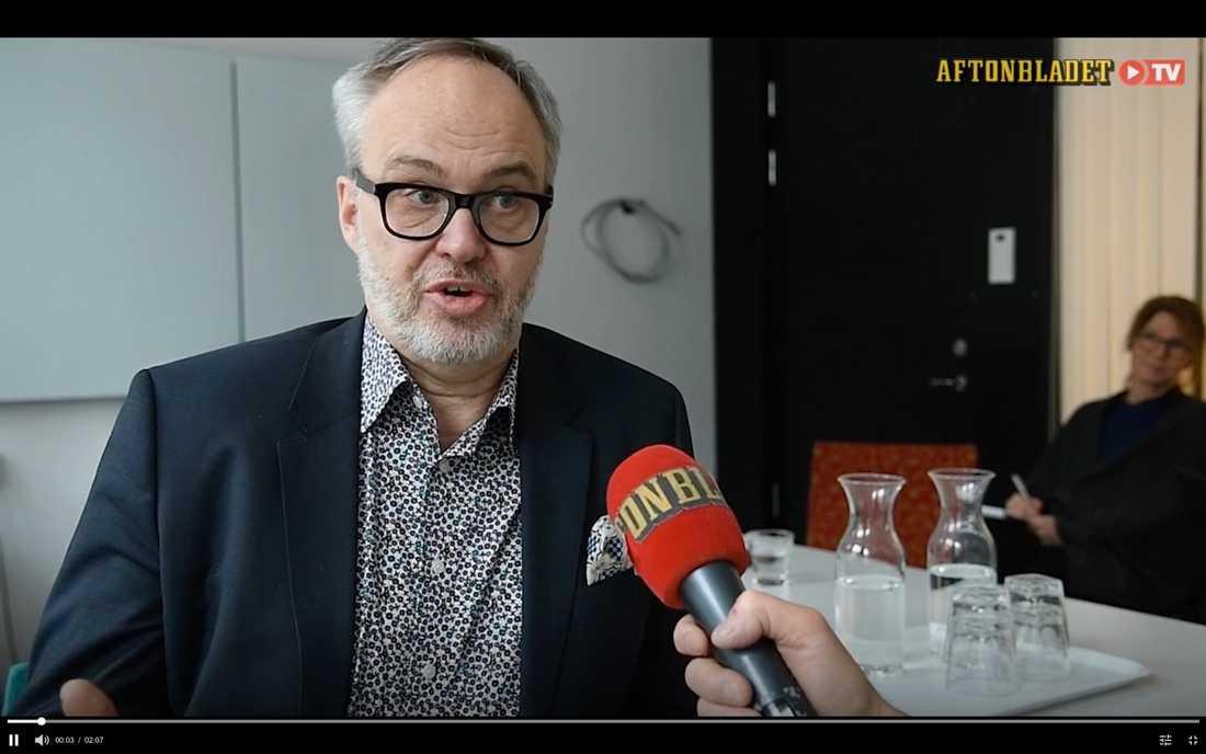 Andreas Miller, styrelseordförande Ledarna, säger att en enig styrelse sparkade Per Hedelin.