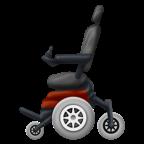Elektrisk rullstol.
