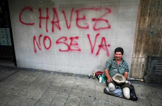 Tiggare i Caracas, Venezuela