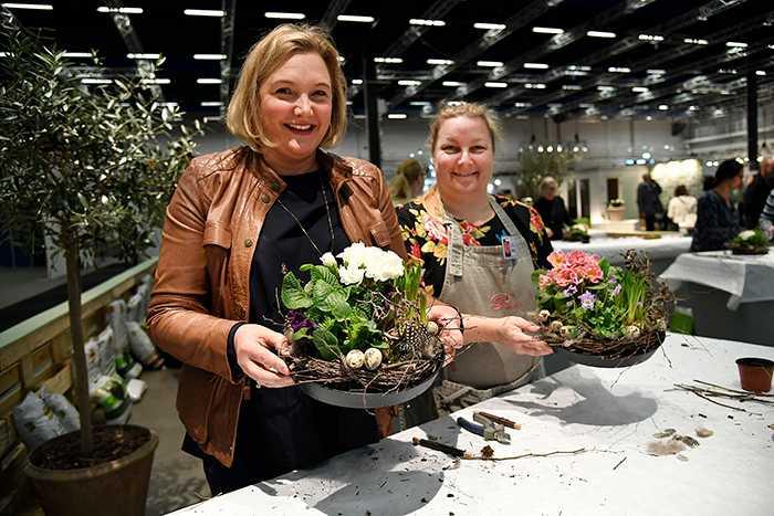 Få vårkänslor på trädgårdsmässan - en massa växtnyheter, inspiration och workshops.