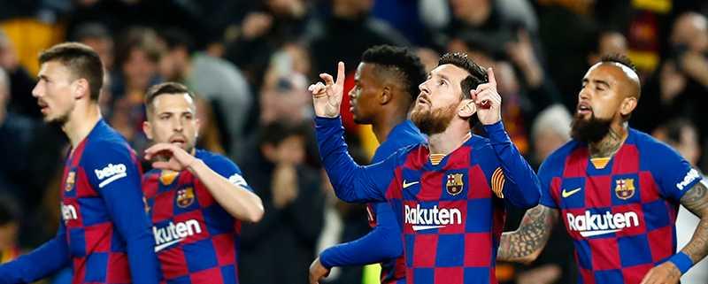 Barcelona får lira utan häjlp från fansen.