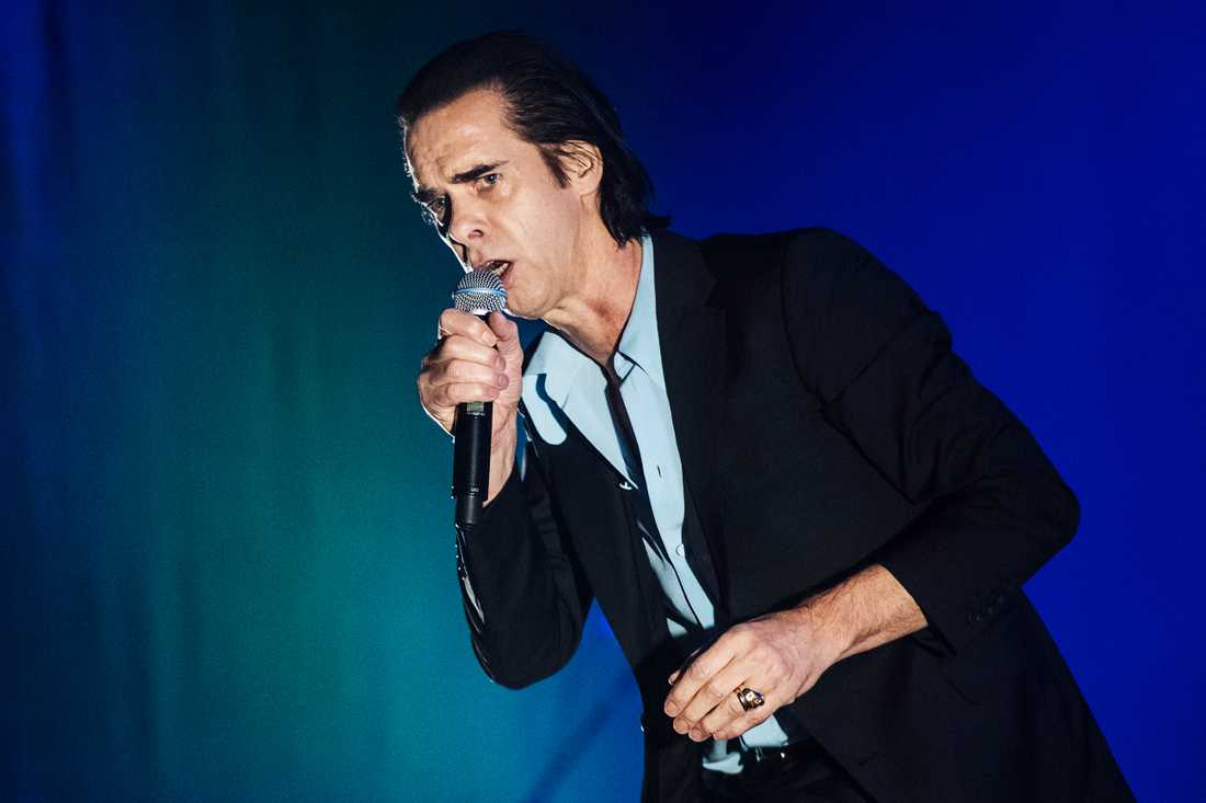 Nick Cave från Nick Cave and the bad seeds.