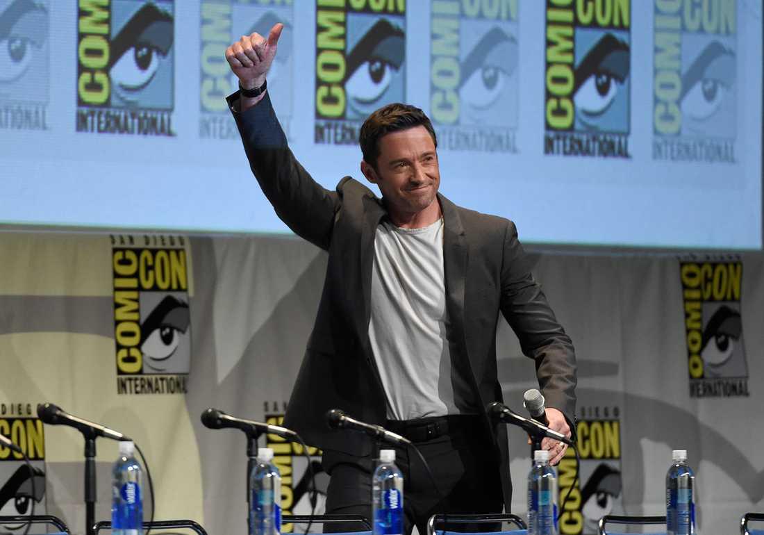 Hugh Jackman på Comic-con.