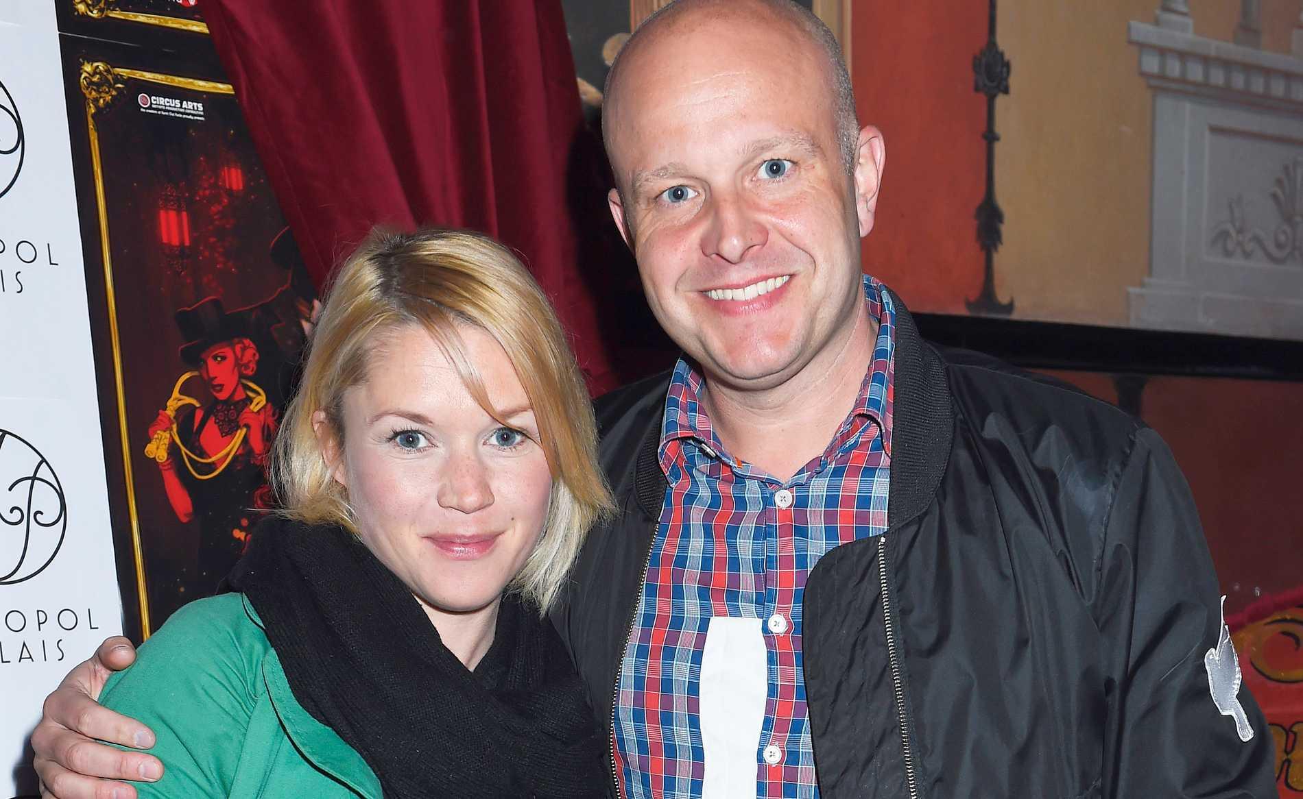 Fredrik Hallgren och Annie Lundin Hallgren.