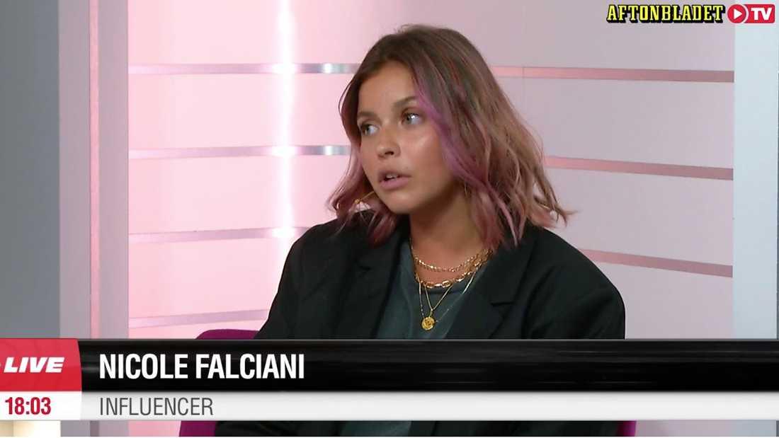 """Nicole Falciani i """"Hur mår du?"""""""