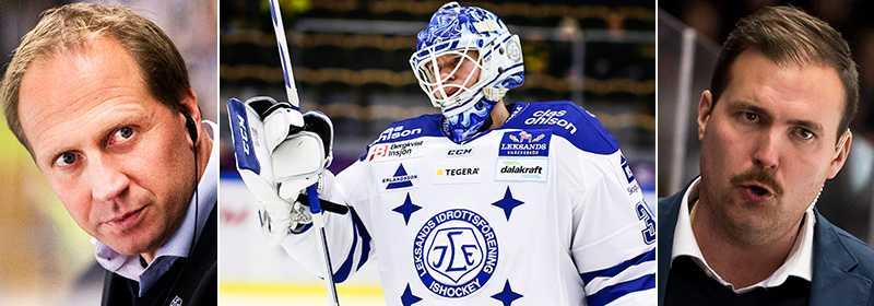 Jonas Levén och Gereon Dahlgren missade bortamatchen mot Skellefteå.