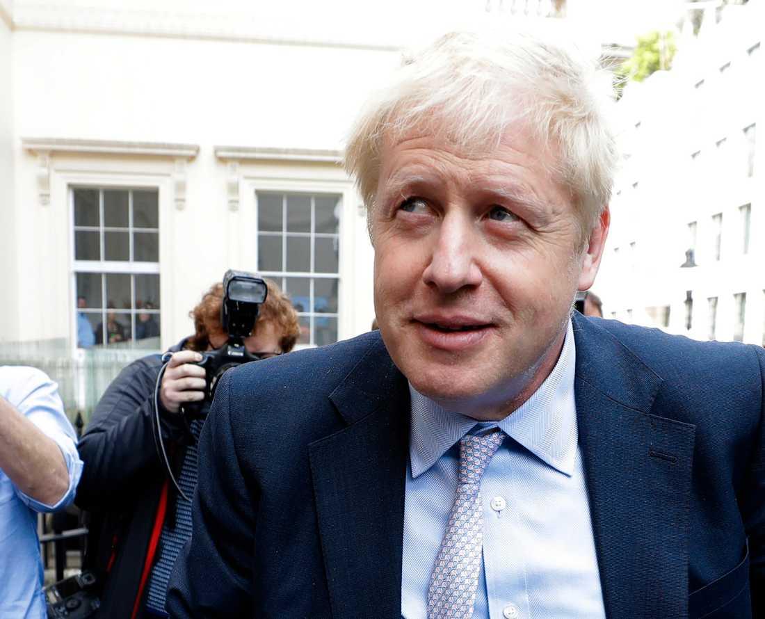 Boris Johnson, före detta utrikesminister i Storbritannien är favorittippad till ny partiledare i Konservativa partiet. Arkivbild.