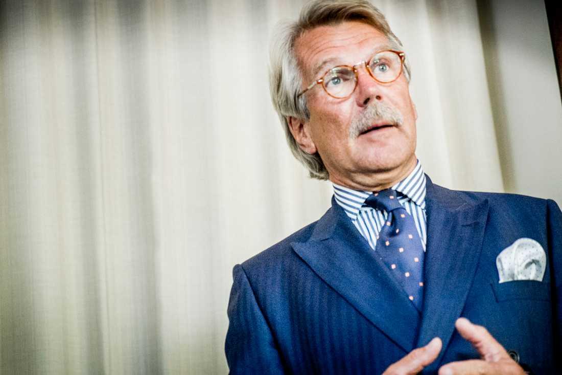 Björn Wahlroos, styrelseordförande för Nordea, har bland annat hänvisat till höjda svenska avgifter för att hantera bankkriser som ett skäl till att flytta huvudkontoret till Finland. Arkivbild.