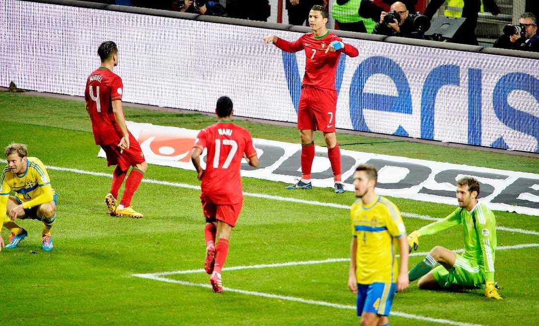 1b255875 VM-drömmen krossades Cristiano Ronaldo sänkte Sverige i playoff-matcherna  och gjorde att de