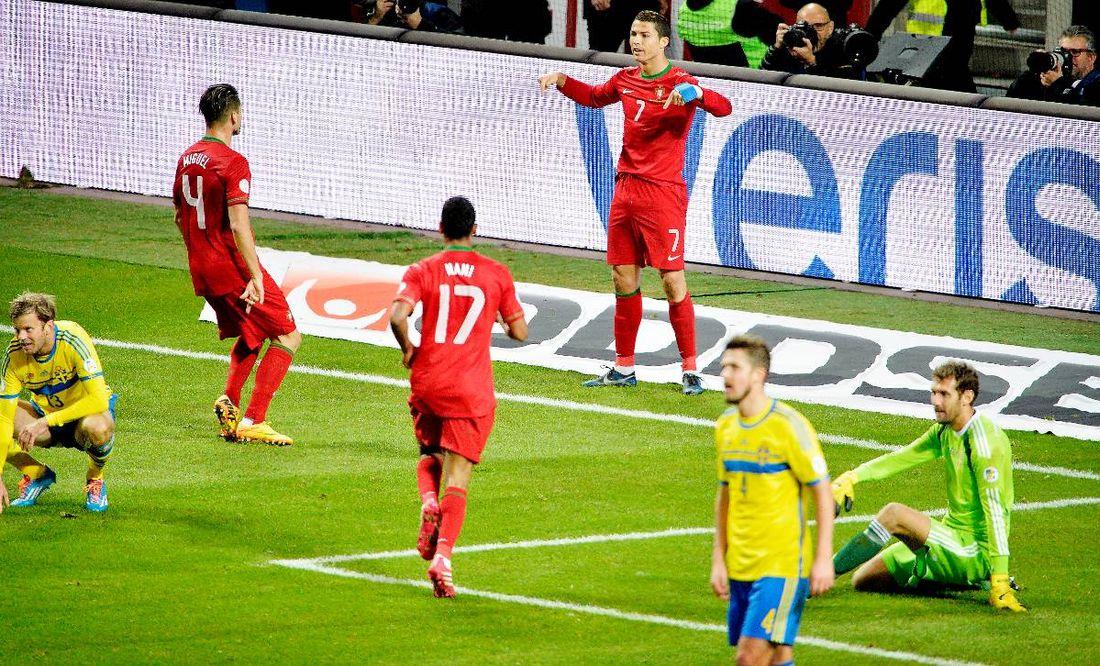 VM-drömmen krossades Cristiano Ronaldo sänkte Sverige i playoff-matcherna  och gjorde att de c45b6fea90ad4
