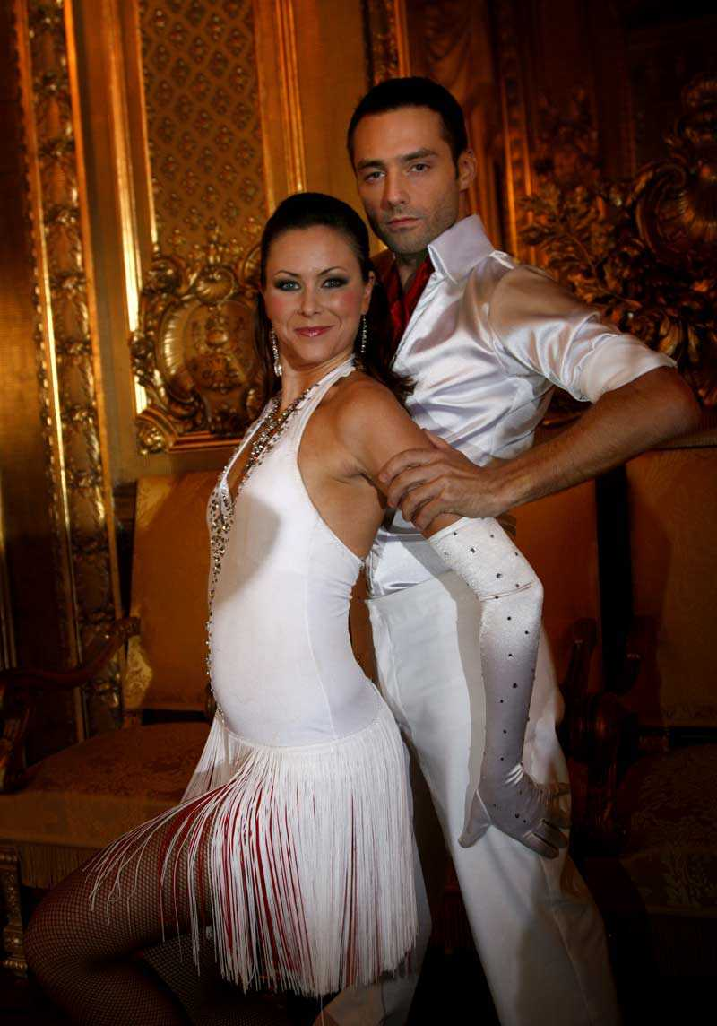 """Emil Forselius medverkade i """"Letäs dance"""" 2007."""