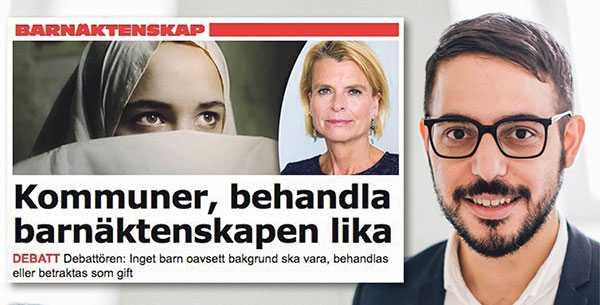Robert Hannah svarar Åsa Regnér om barnäktenskap.