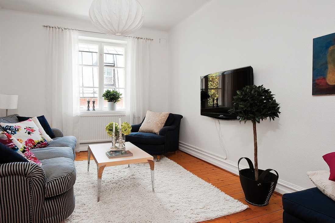 EFTER: Med enkla medel går det av skapa ett helt nytt intryck av sin lägenhet.