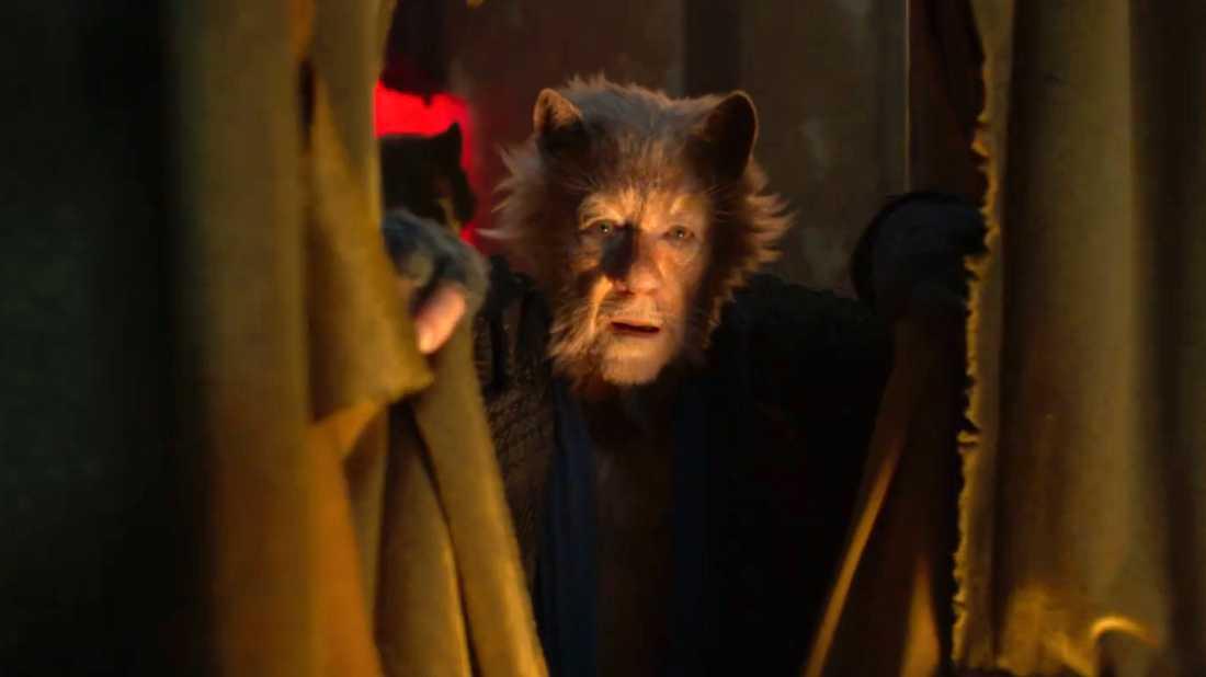 """Ian McKellen i """"Cats""""."""