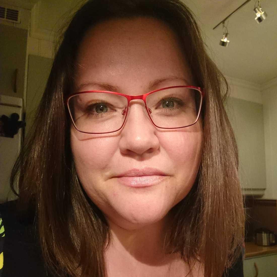 Cecilia Bengtsson, 38, drog igång insamlingen till förmån för de äldre.