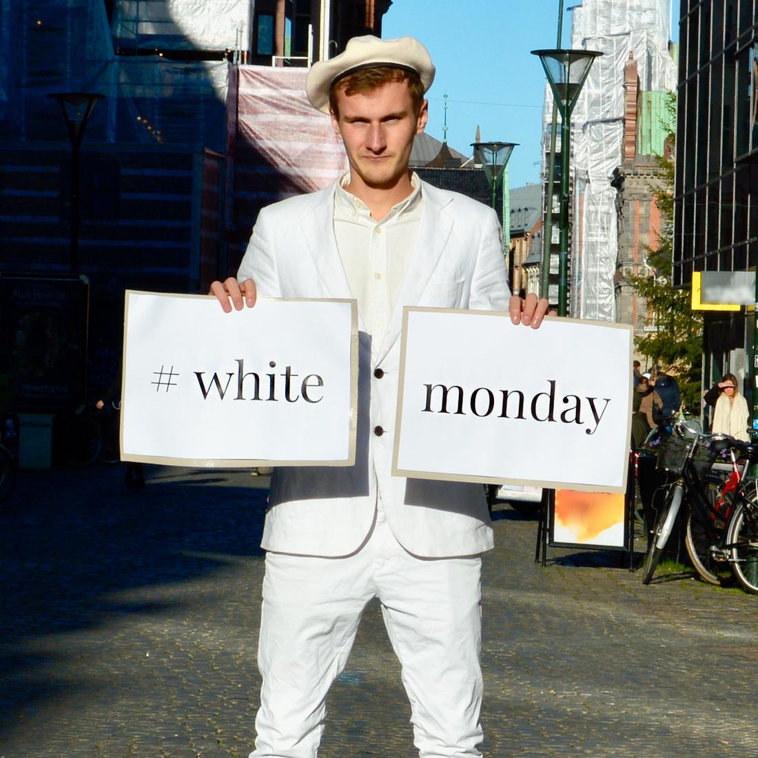 Henning Gillberg, initativtagare till White Monday.