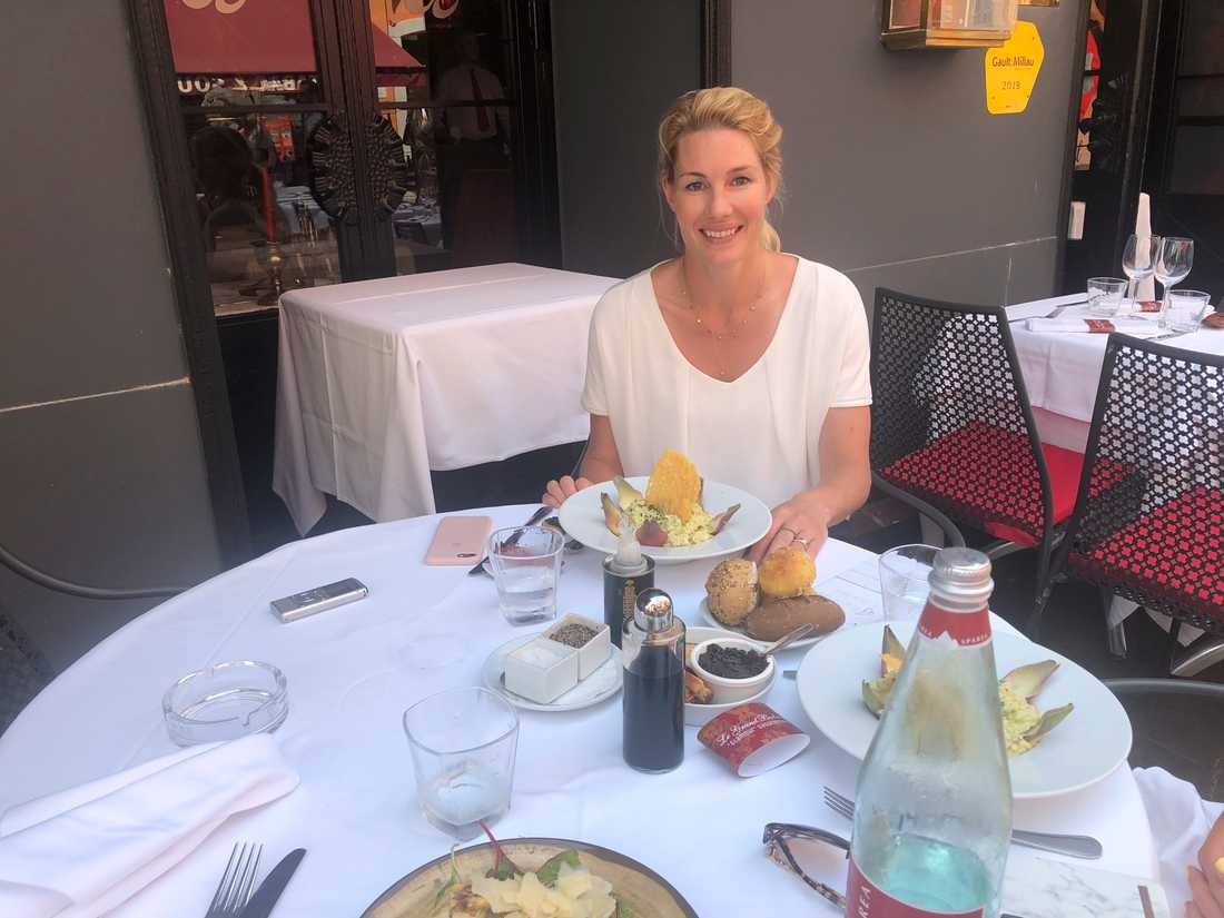Sportbladet träffade Hanna Marklund i Gamla stan i Nice.