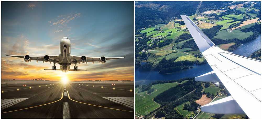 SAS och Airbus i samarbete kring el- och hybridflyg. Bilderna är genrebilder och har ingenting med bolagens samarbete att göra.