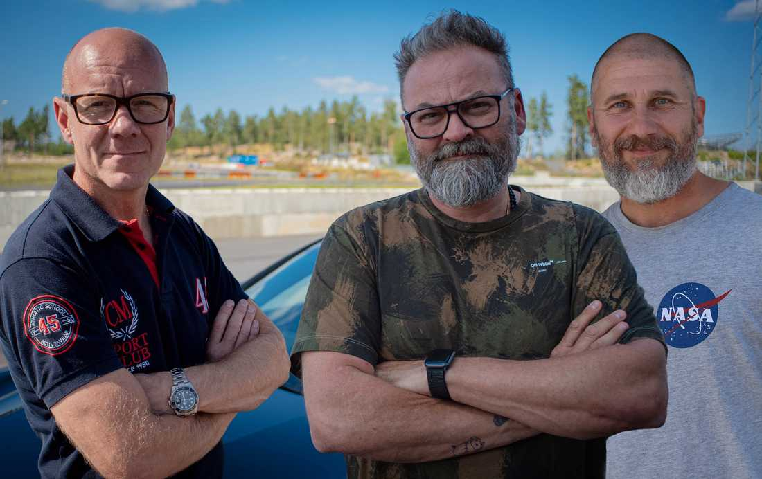 Tony Rickardsson, Adam Alsing och Markoolio ska leda den svenska versionen av internationella succén Top Gear.