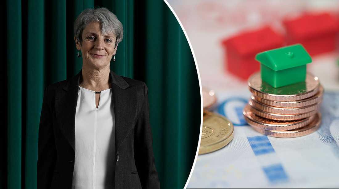 Johanna Cerwall, vd på Skandiabanken, vill uppmana människor att se över sina bolån.