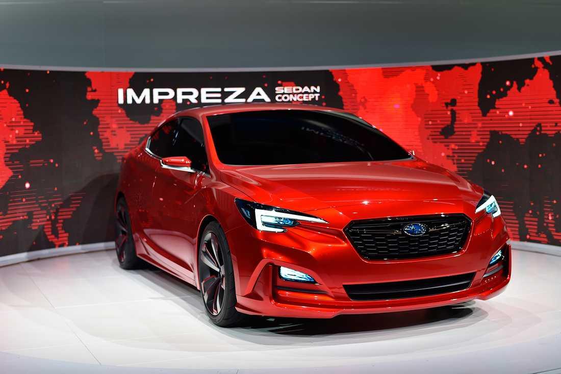 Imprezan som sedan-koncept visades upp på bilmässan i Los Angeles i november 2015.