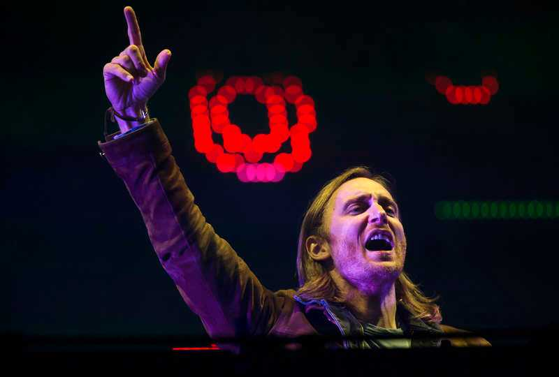 David Guetta på Summerburst.