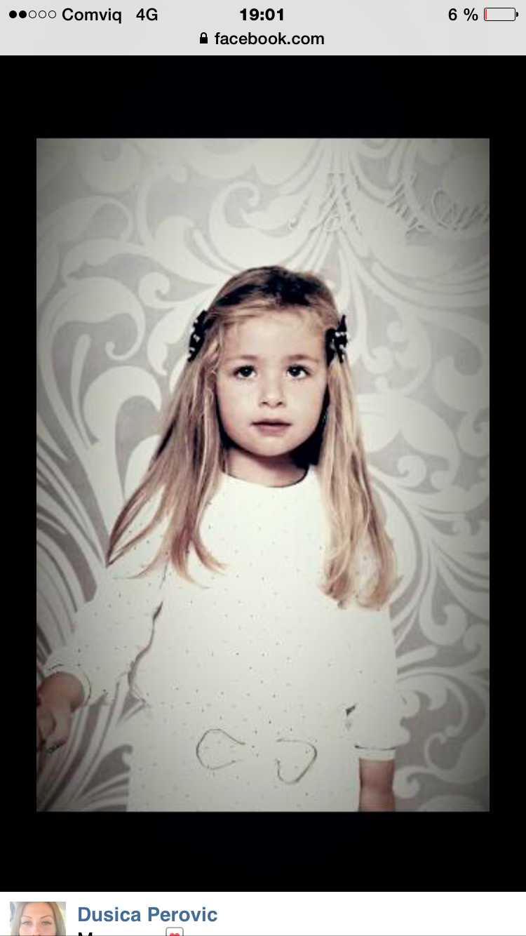 Luna Mandic, 4 år.