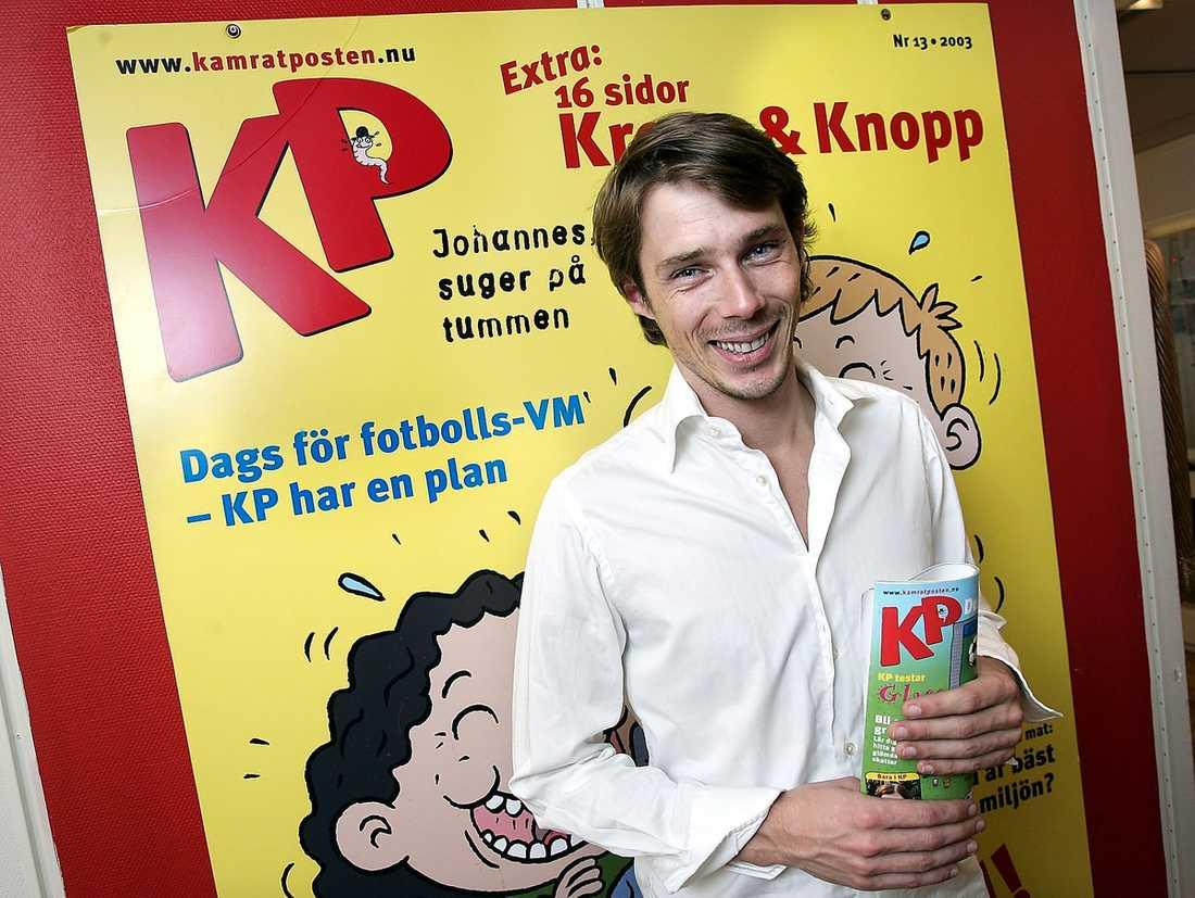 Ola Lindholm arbetar som chefredaktör på KP.