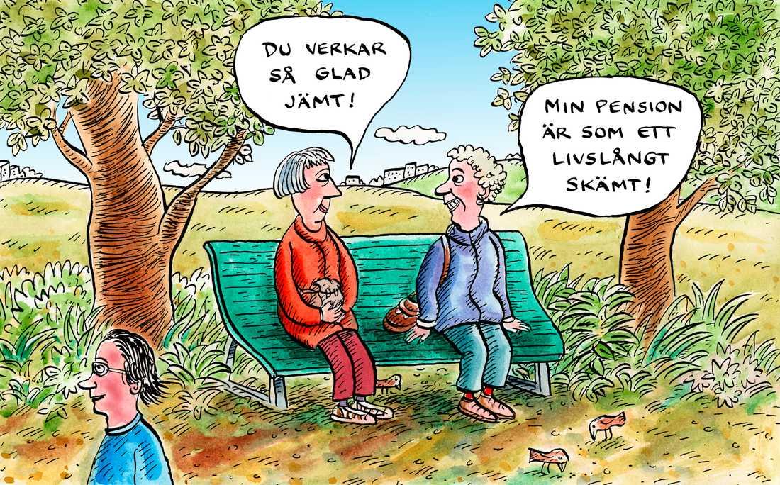 PPM och pensionerna får miljoner människor att rasa. Stefan Löfven och Socialdemokraterna kan vinna tillbaka LO-männen och ta tillbaka opinionen om man väljer att ta politisk strid, skriver Daniel Suhonen.
