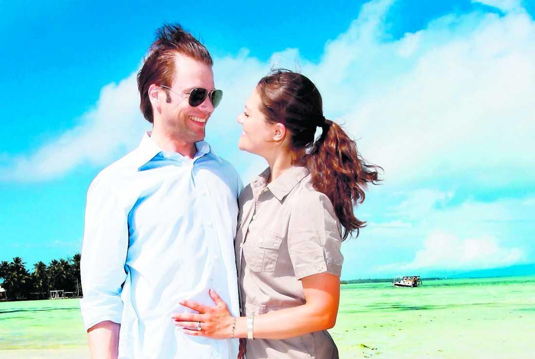 """""""Här har vi kunnat prata ihop oss om hur vi ska göra i höst. Och hur vi ser på vår gemensamma framtid"""", sa kronprinsessan Victoria när Aftonbladet träffade det nygifta kronprinsessparet på deras smekmånad på Bora Bora i Franska Polynesien."""
